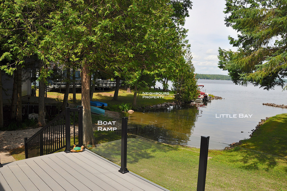 5-View-from-the-deck-of-the-boat-ramp-and-little-bay