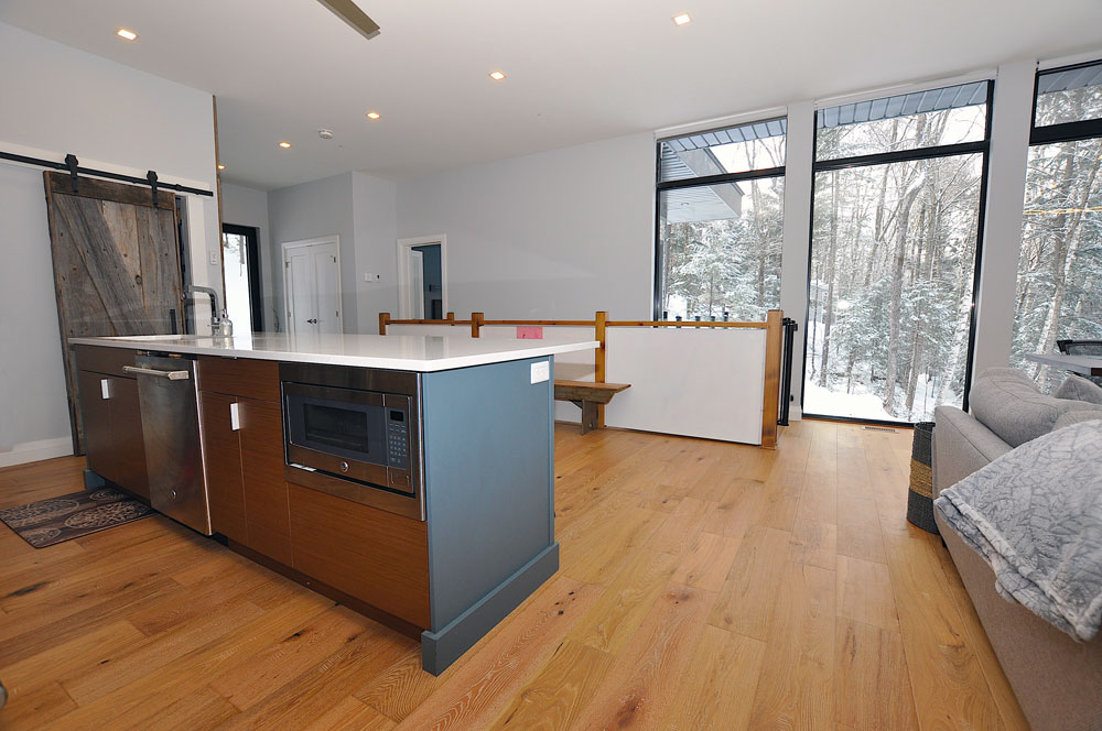 Haliburton Cottage - Growler lake - Kitchen Island