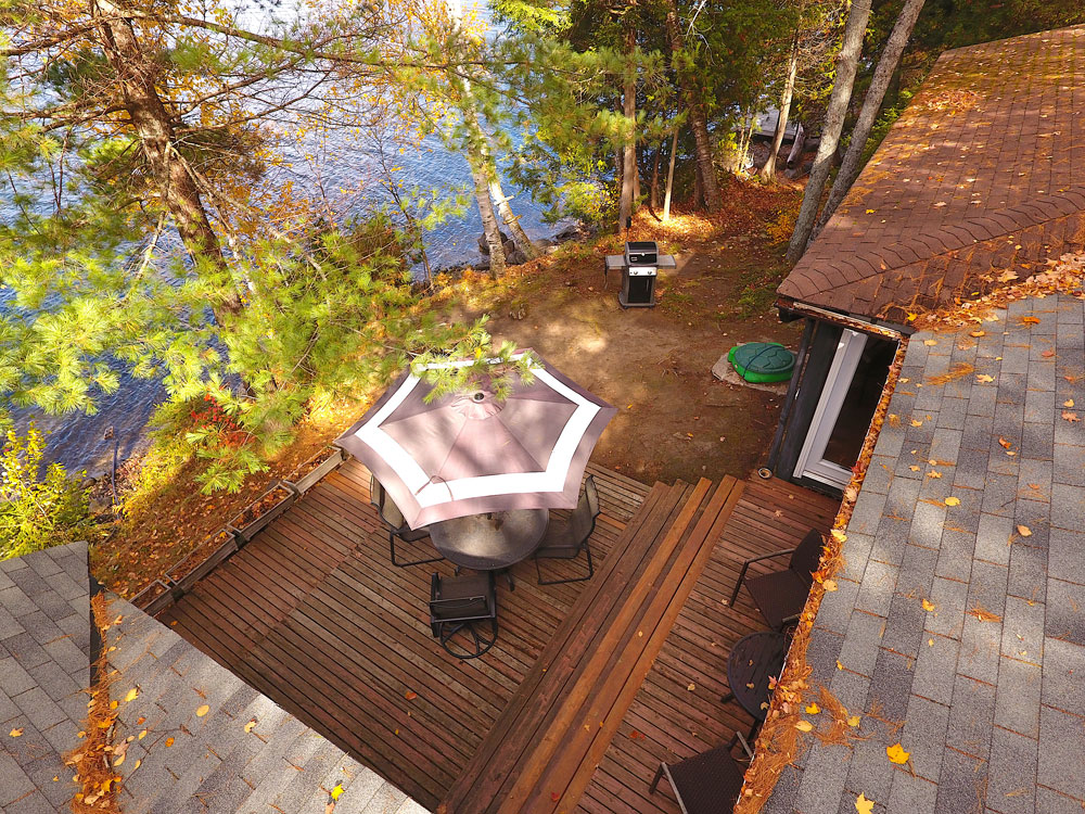 Glamour Lake The Tamarack Aerial-of-deck
