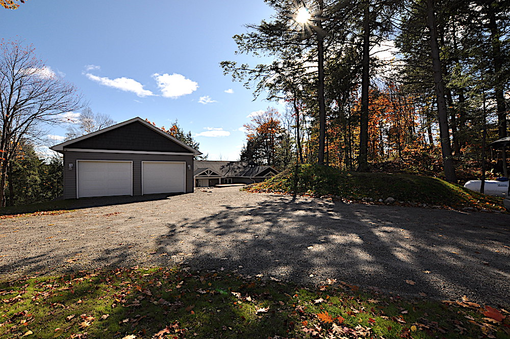 Haliburton Cottage Kennisis Lake Evergreen Terrace - Parking