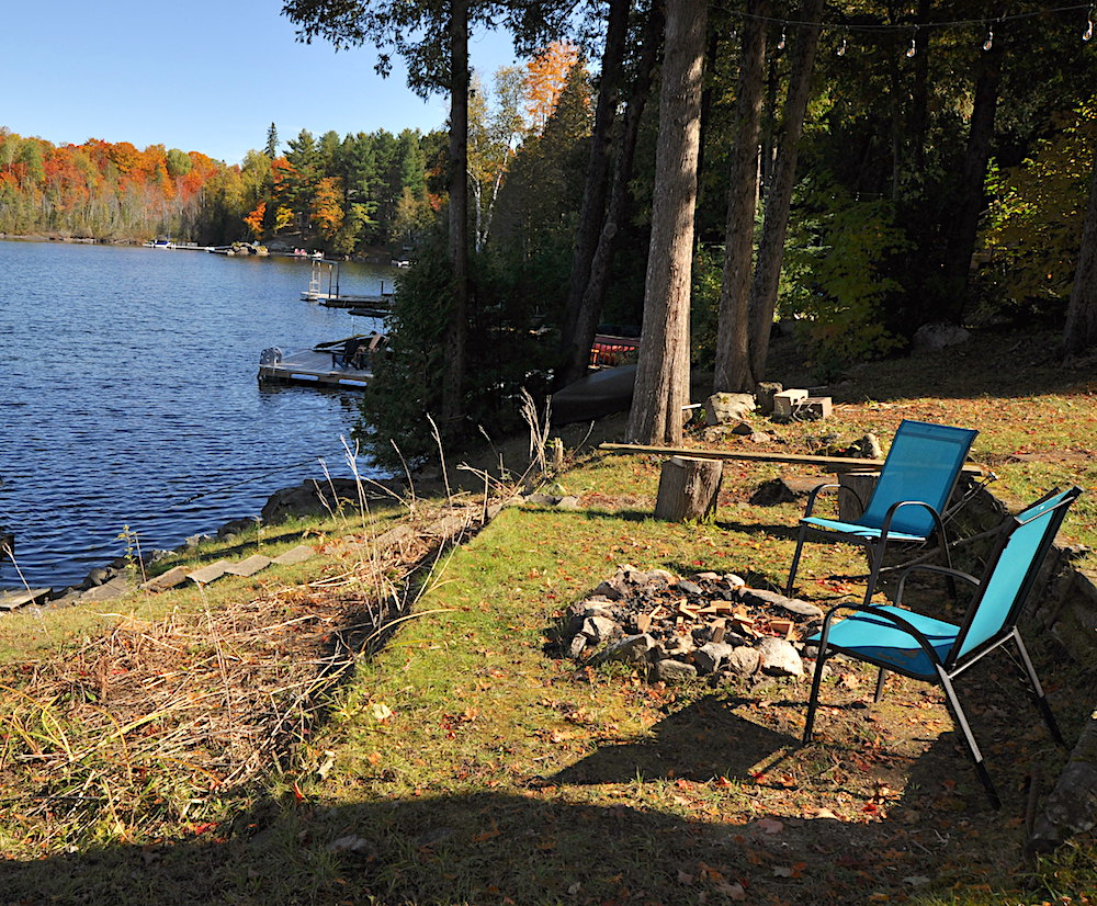 1Chandos Lake Blue Heron Firepit
