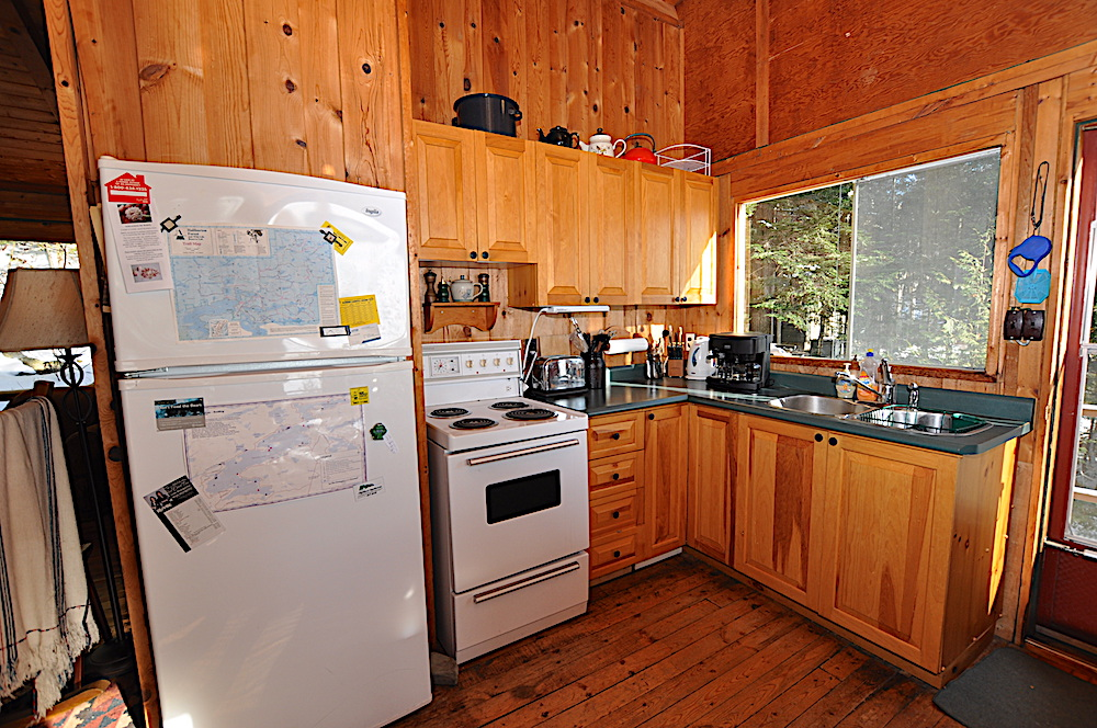Kennisis Lake - Hideaway Bay - Kitchen view 1