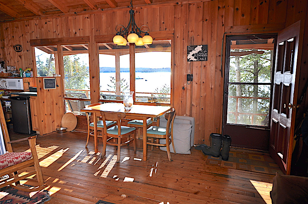 Kennisis lake - Hideaway Bay - View from the living room
