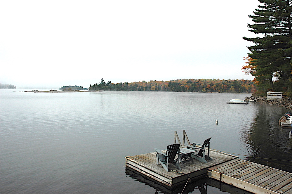 Kennisis Lake - Hideaway Bay - Serenity on the Dock
