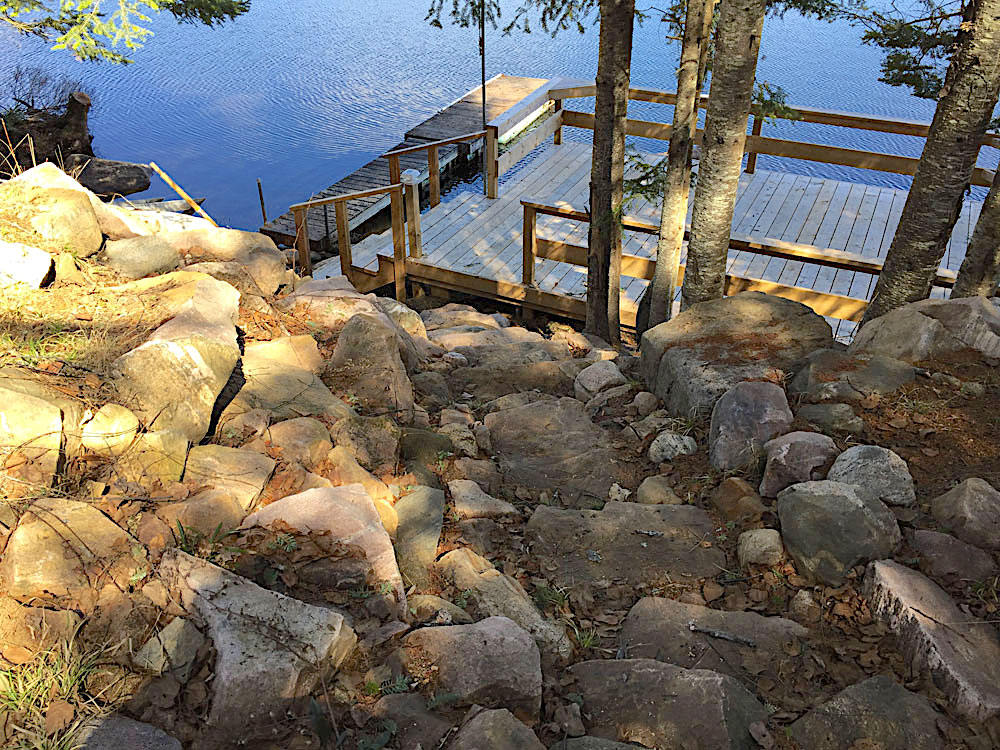 Blue Hawk Lake Blue Bell - Haliburton Cottage - Steps-to-Waterfront