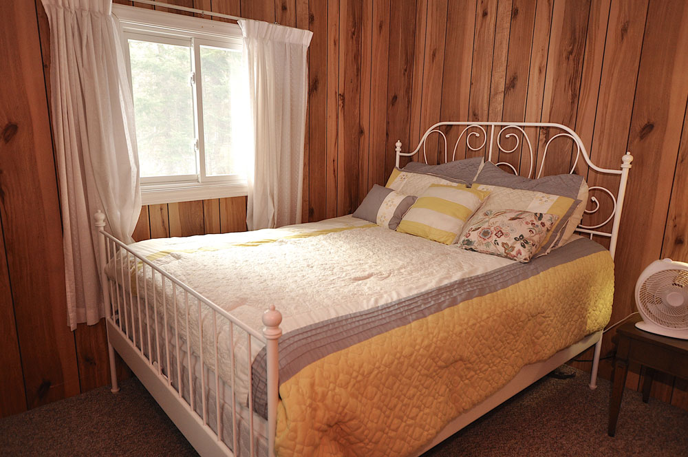 Haliburton Cottage - Gooderham Lake Into The Woods -  Bedroom-1-Queen-Bed