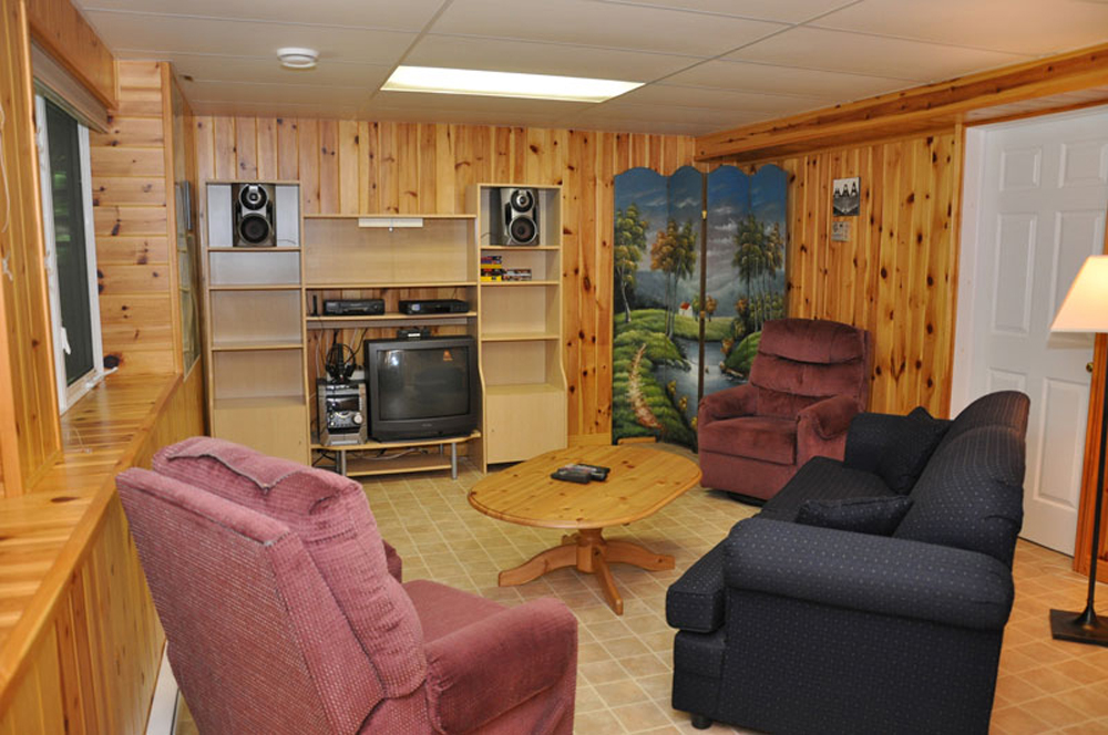 Haliburton Cottage - Soyers Lake Serenity - Rec Room
