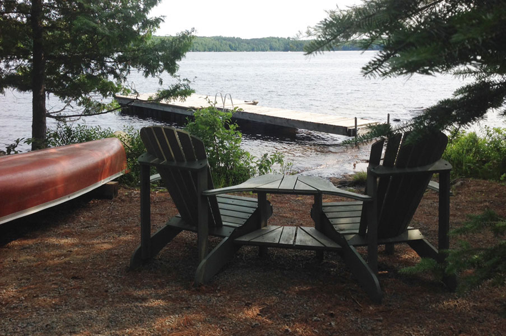Haliburton Cottage - Soyers Lake Serenity - Waterfront - Sit and relax