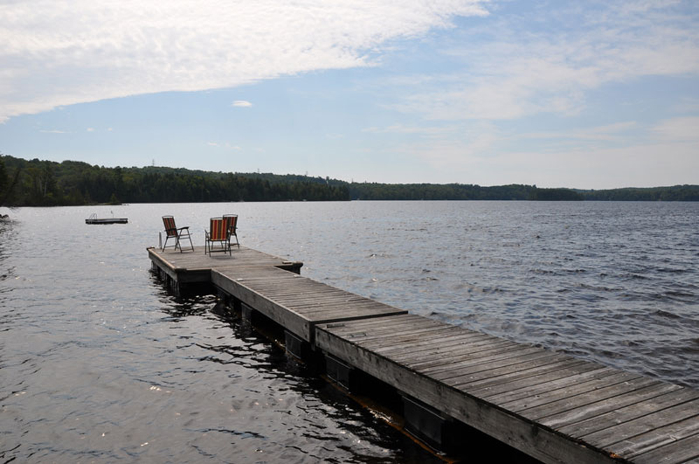 Haliburton Cottage - Soyers Lake Serenity - Dock and swim raft