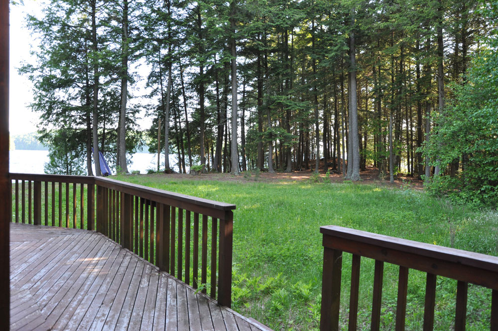Haliburton Cottage - Kawagama Lake - Driftwood Bay - View from the deck