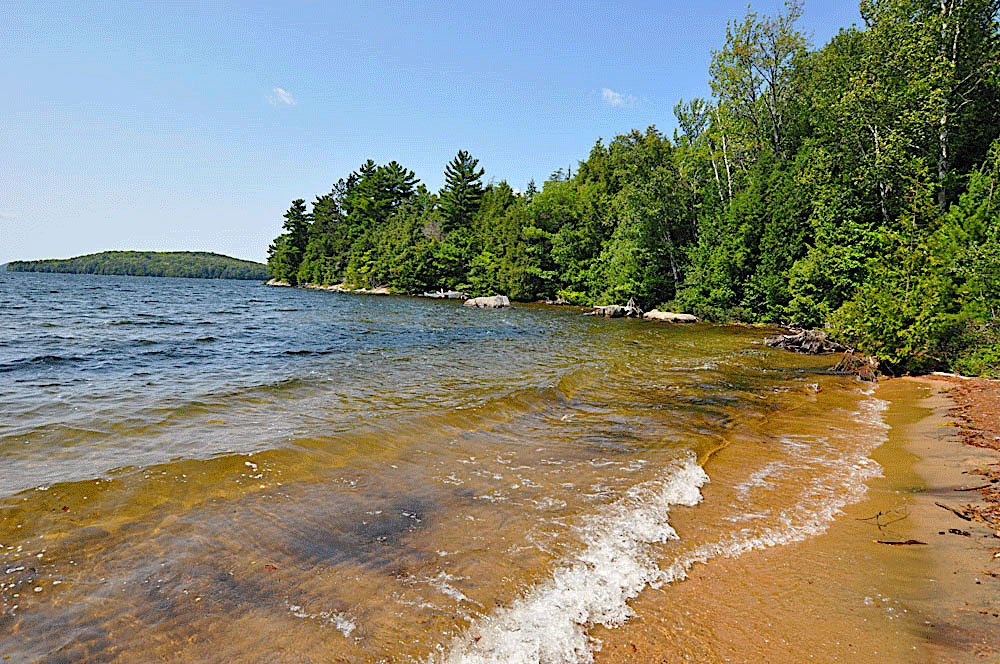 Haliburton Cottage - Kawagama Lake - Driftwood Bay - Sand beach in the Bay