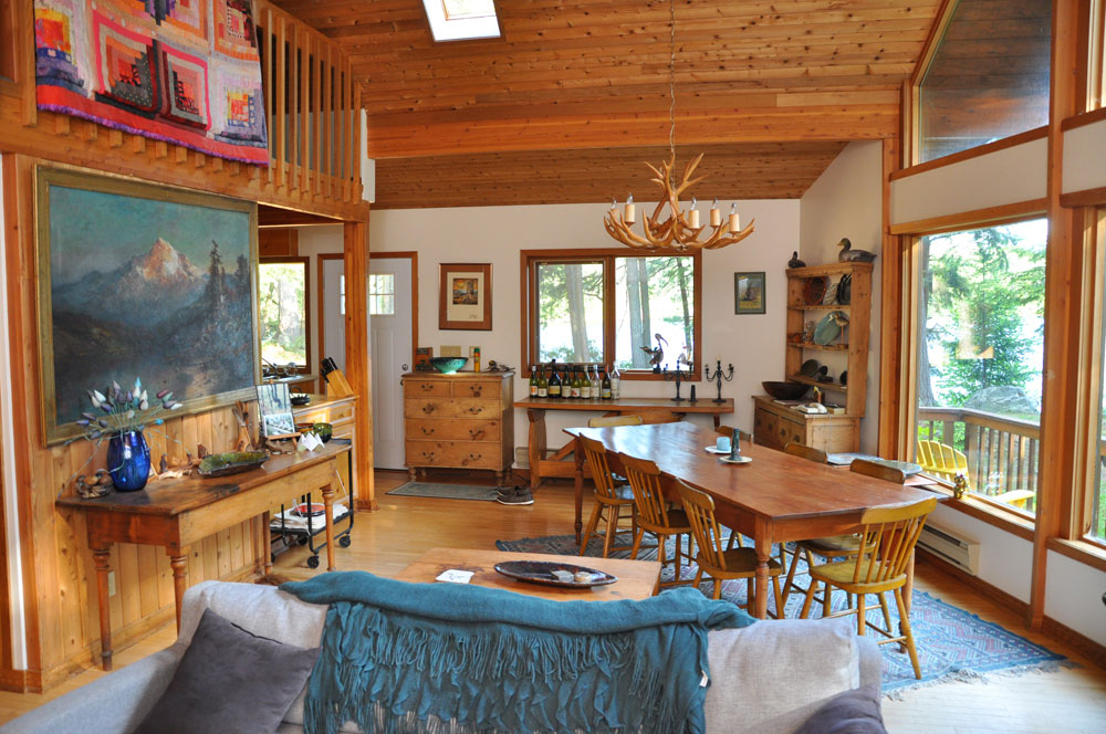 Haliburton Cottage - Kawagama Lake - Driftwood Bay - Dining Area