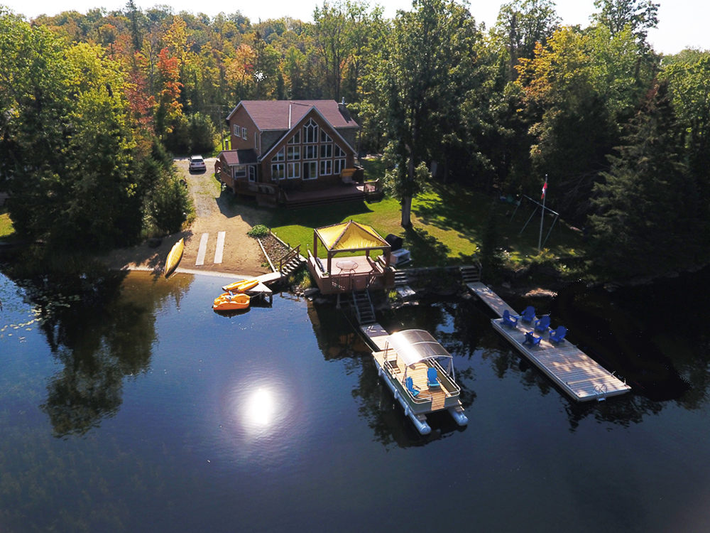 27 Aerial view of Wards Landing