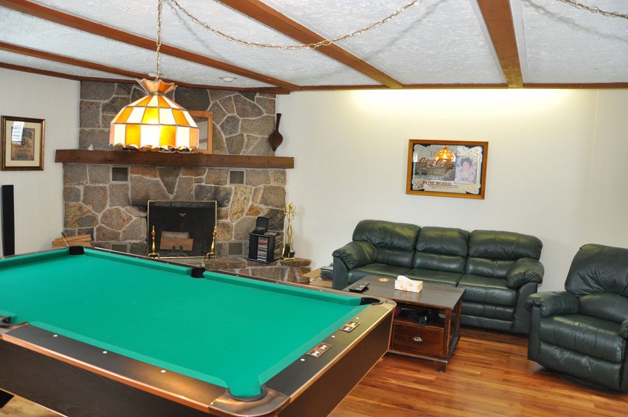 10-Living room with pool table