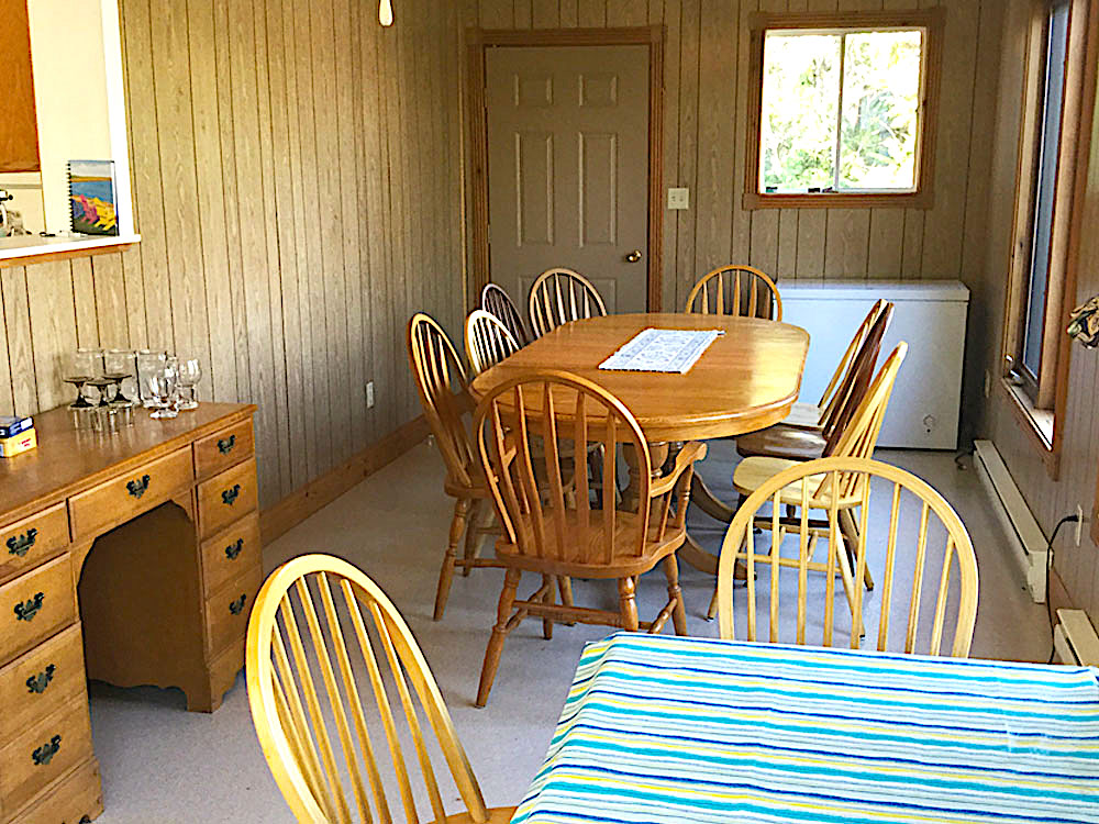 7b Sunroom Dining Area off the kitchen