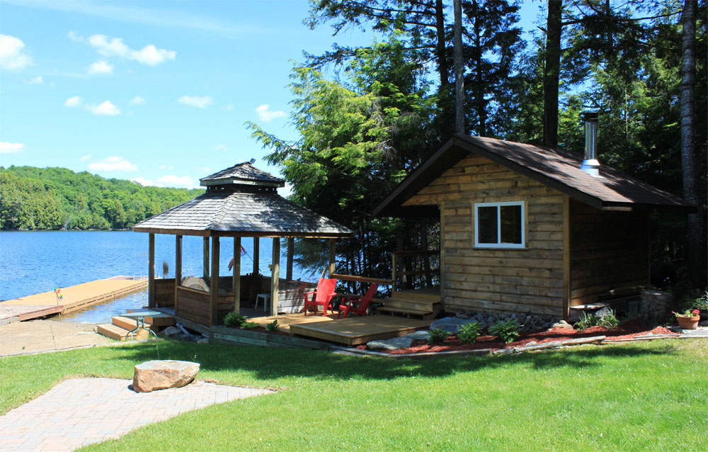 3-Shoreline Gazebo & Sauna