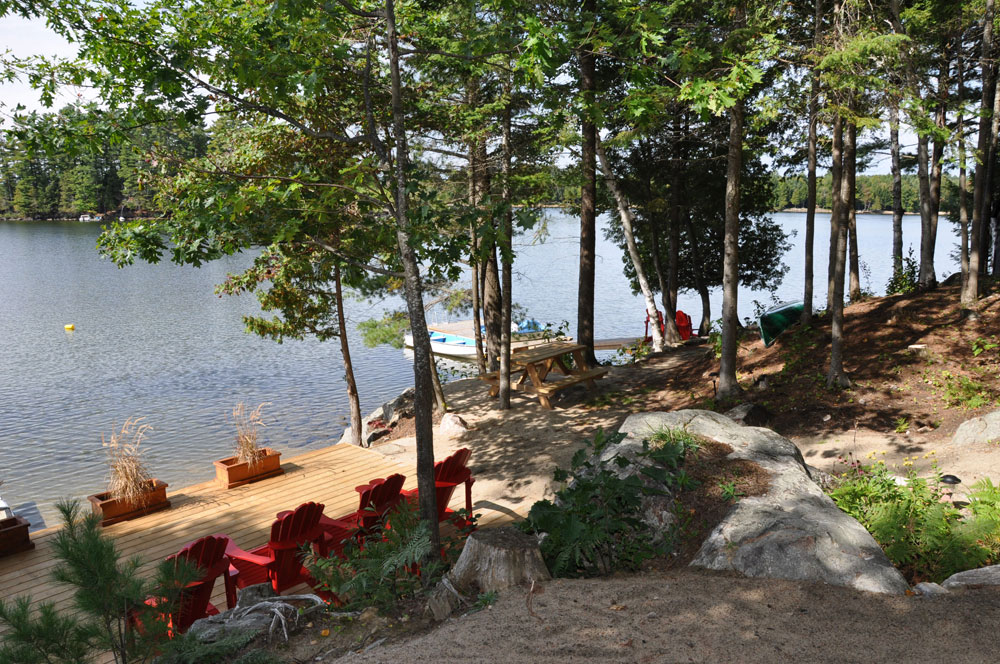 3-View to the lake from the picnic area