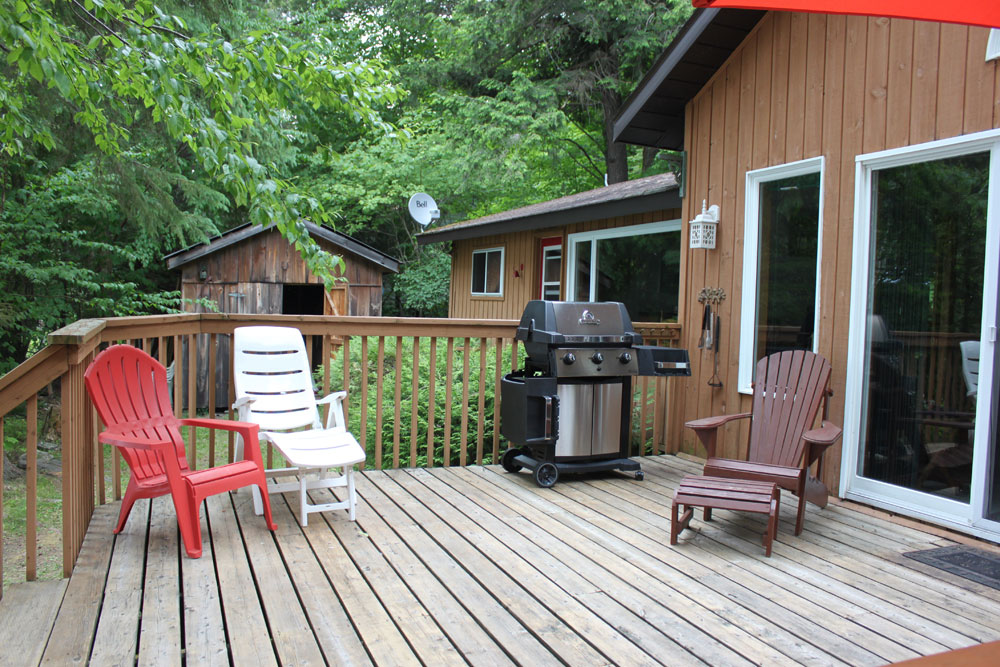 5-View of Deck BBQ