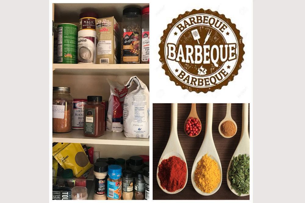 Haliburton Cottage - Allen Lake - Grandview - Gourmet spice cupboard
