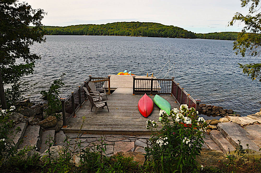 45-Dock and waterfront patio