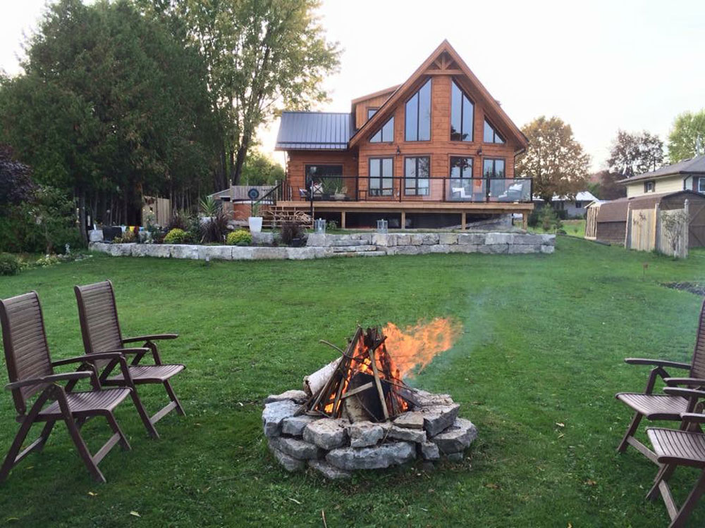 Kawartha Cottage - Pigeon Lake - Kotedza Lago - fire pit