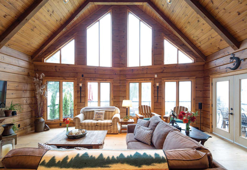 Kawartha Cottage - Pigeon Lake - Kotedza Lago - living room