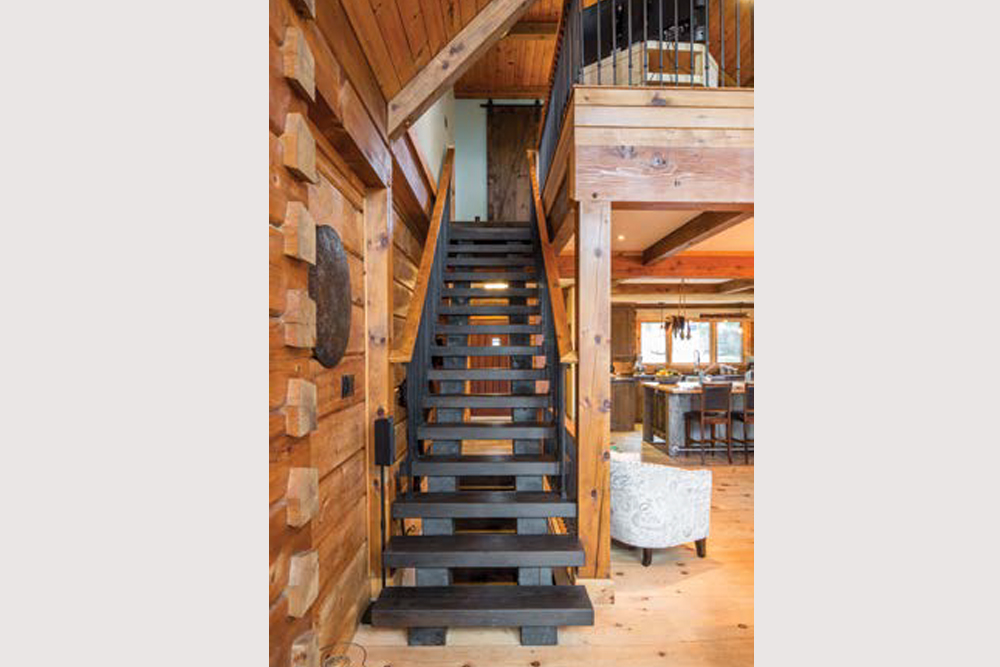 Kawartha Cottage - Pigeon Lake - Kotedza Lago - Stairs to Loft