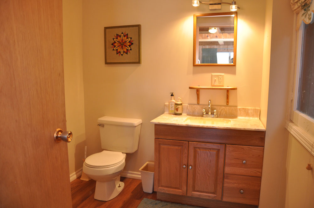 19 bath with shower stall