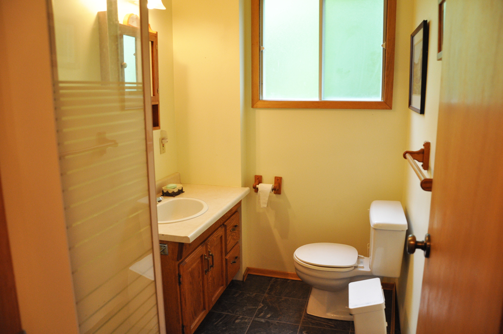 11 Bathroom with shower stall